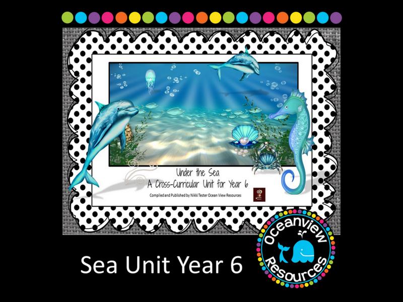 Year 6 Sea Themed Cross Curricular Unit