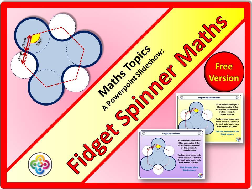 Fidget Spinner Maths Free Version