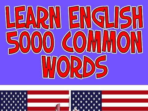 Learn English 5000 Common Words