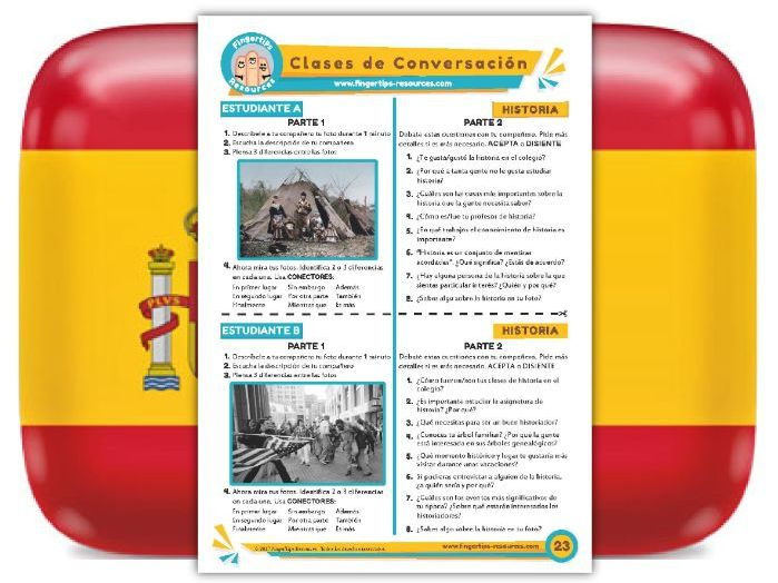 Historia - Spanish Speaking Activity