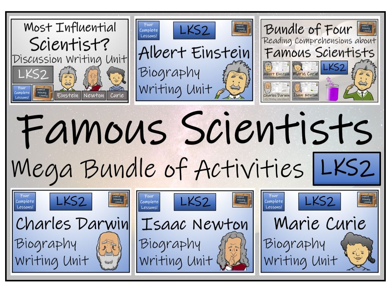 LKS2 Science - Famous Scientists Mega Bundle of Activities