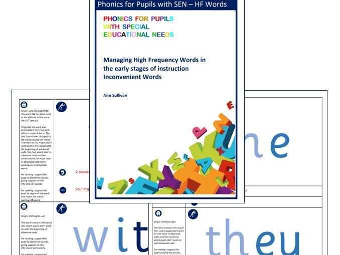 Managing HF Words - 'Inconvenient' Words - Phonics for SEN