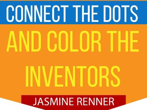 Connect the Dots & Color the Inventor Learning Resources Lesson and Worksheet