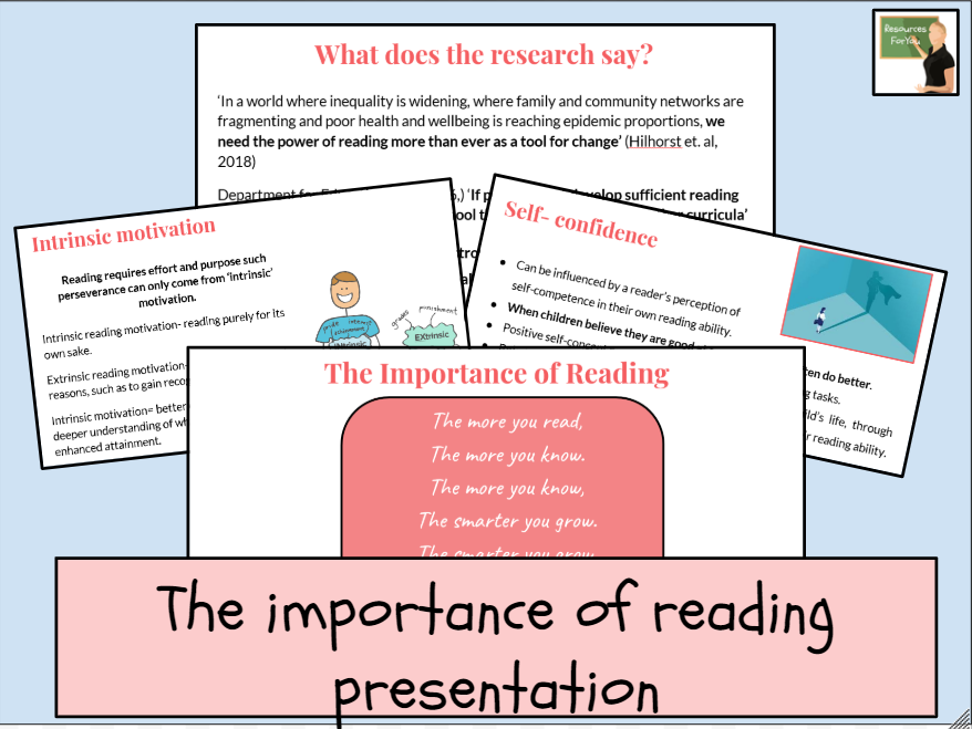 The importance of reading presentation