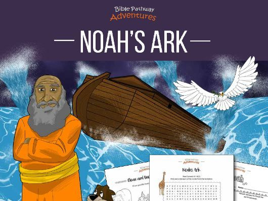 Noah's Ark Coloring Activity Book