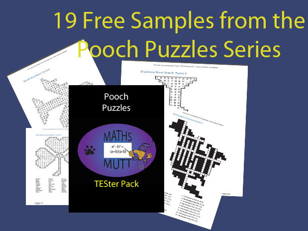 Pooch Puzzles: TESter Pack