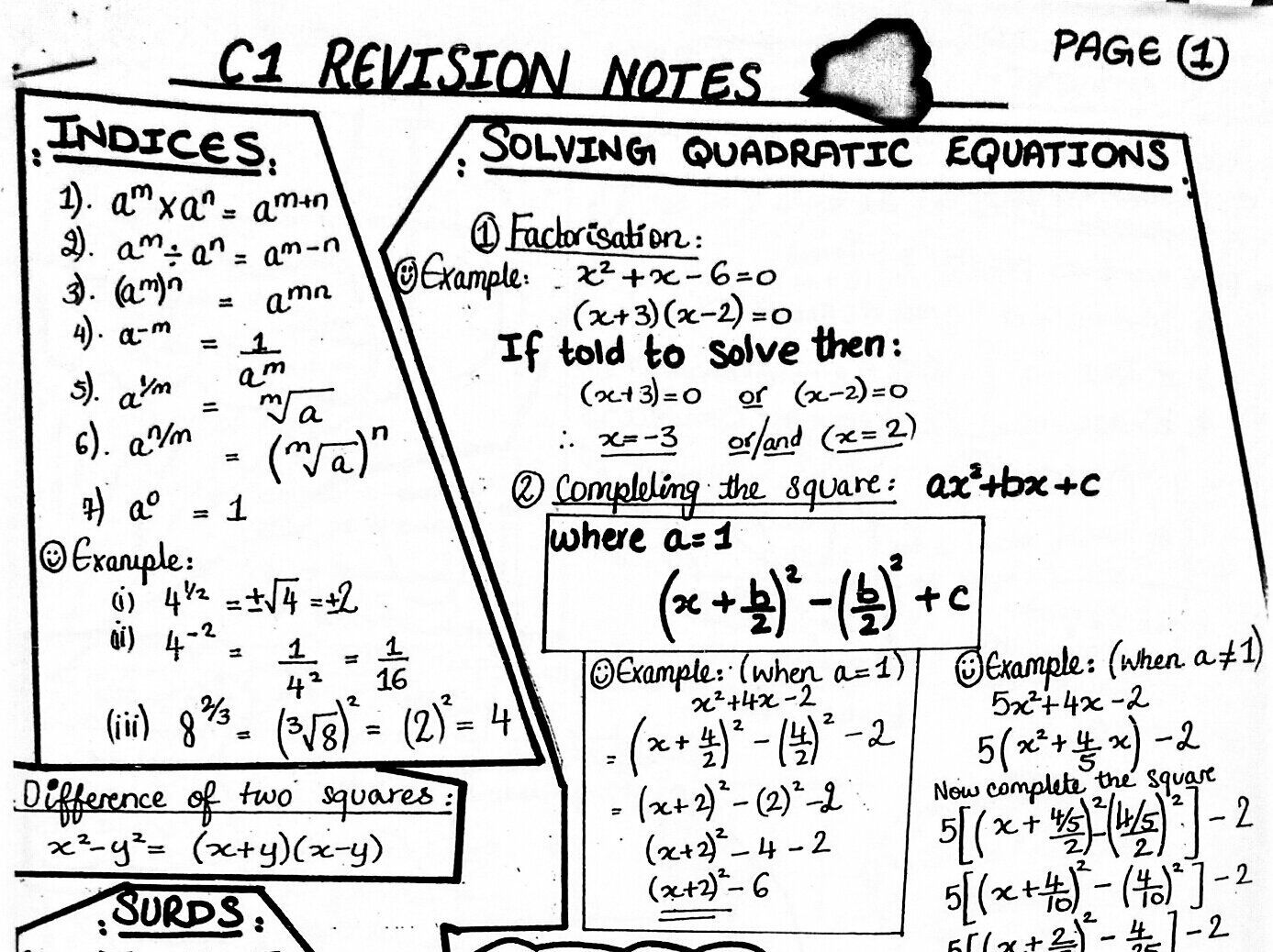 Tes Maths: Last-minute revision activities   Tes