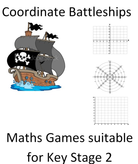 Coordinate Battleships - Differentiated For La Ma & Ha - Ideal For