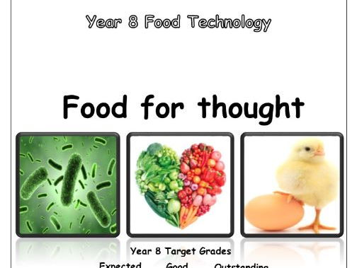 Year 8 Food Booklet - Food For Thought