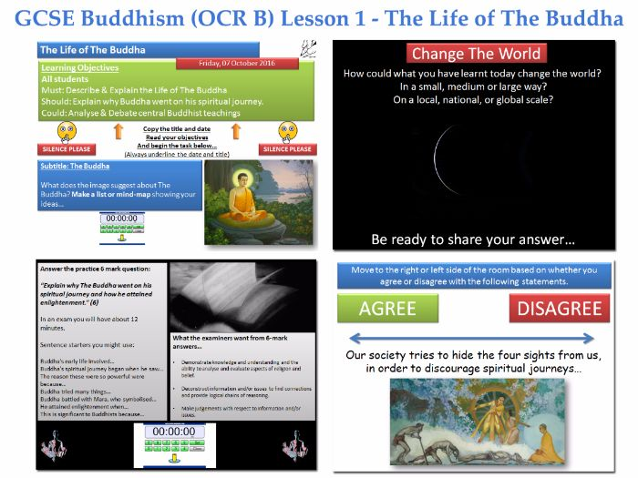 GCSE  Buddhism - Lesson 1 of 20 [The Life of the Buddha: The Four Sights, Nibbana, Nirvana, Mara]