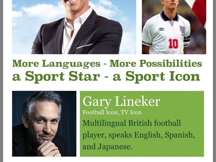 MFL Poster 1 - Gary Lineker