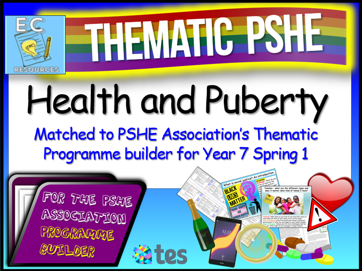 Health and Puberty Thematic PSHE
