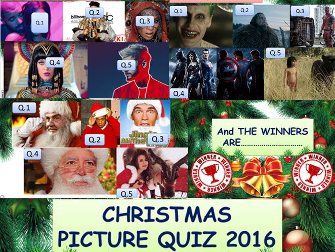 ALL YOU NEED THIS CHRISTMAS COMPLETE XMAS QUIZ SET!!!