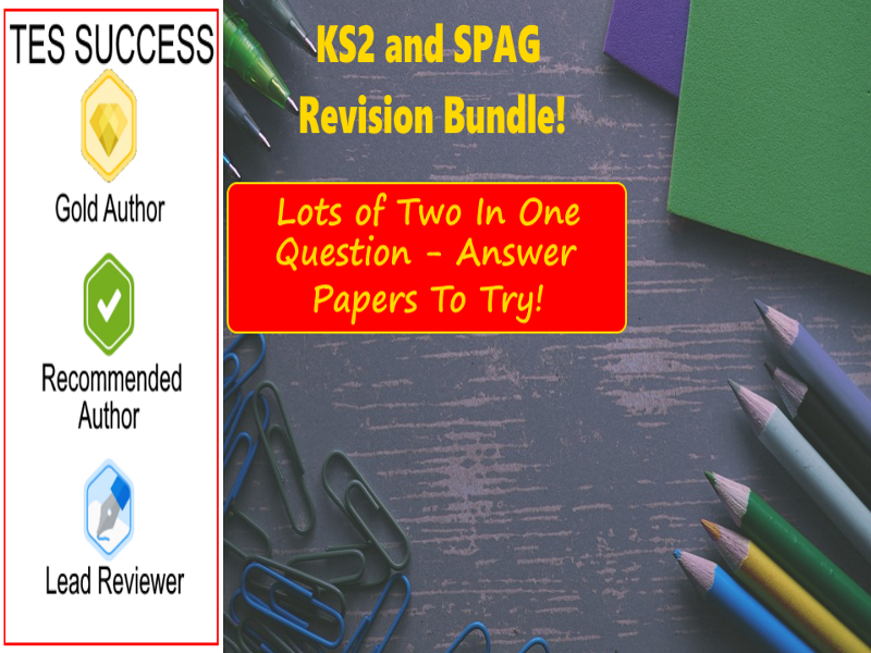 KS2 SATS and SPAG Revision Test Bundle
