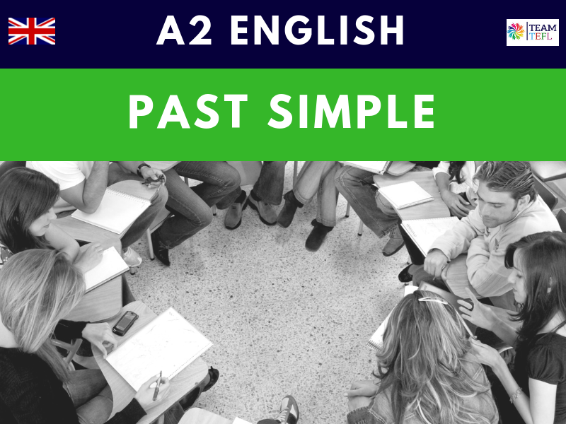 Past Simple A2 Pre-Intermediate ESL Lesson Plan
