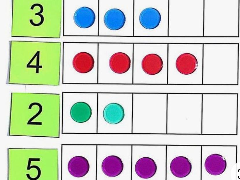 SMART game subitising 1-5