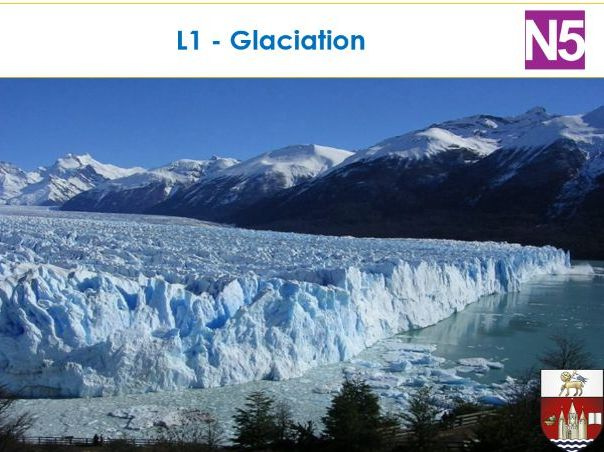 N5 - Glaciation formation of an Arete and pyramidal peak