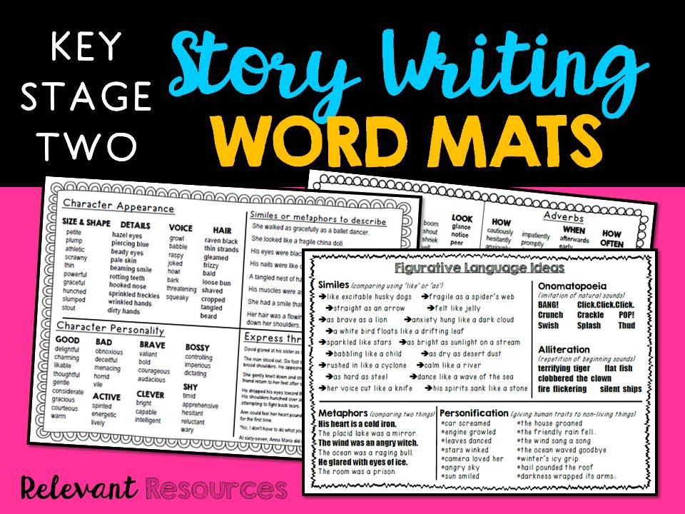 Word Mats: Key Stage Two English