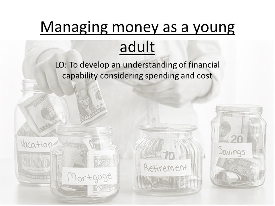 PSHE- Financial capability