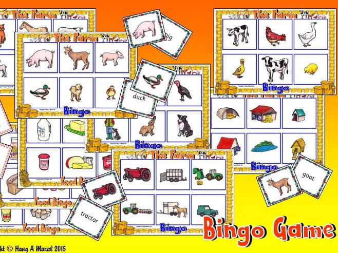 The Farm KS1- Bingo