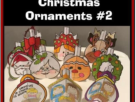 Christmas Crafts - Christmas Ornaments #2