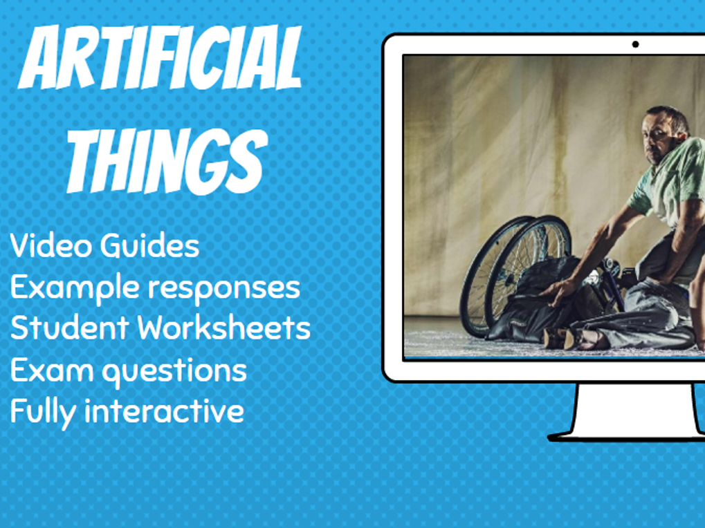 GCSE Dance Artificial Things Video Guides