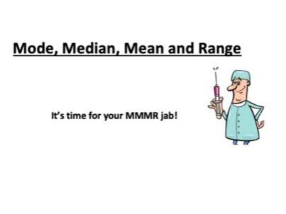 Mean, Median, Mode and Range Dice Activity Worksheet