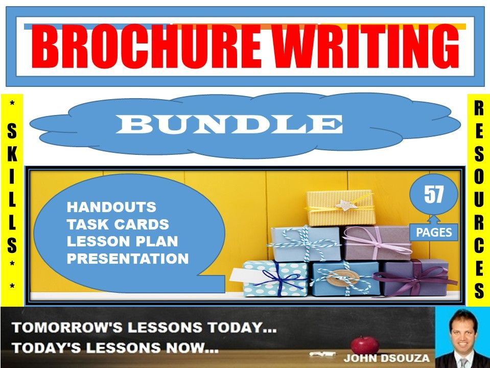 BROCHURE WRITING BUNDLE