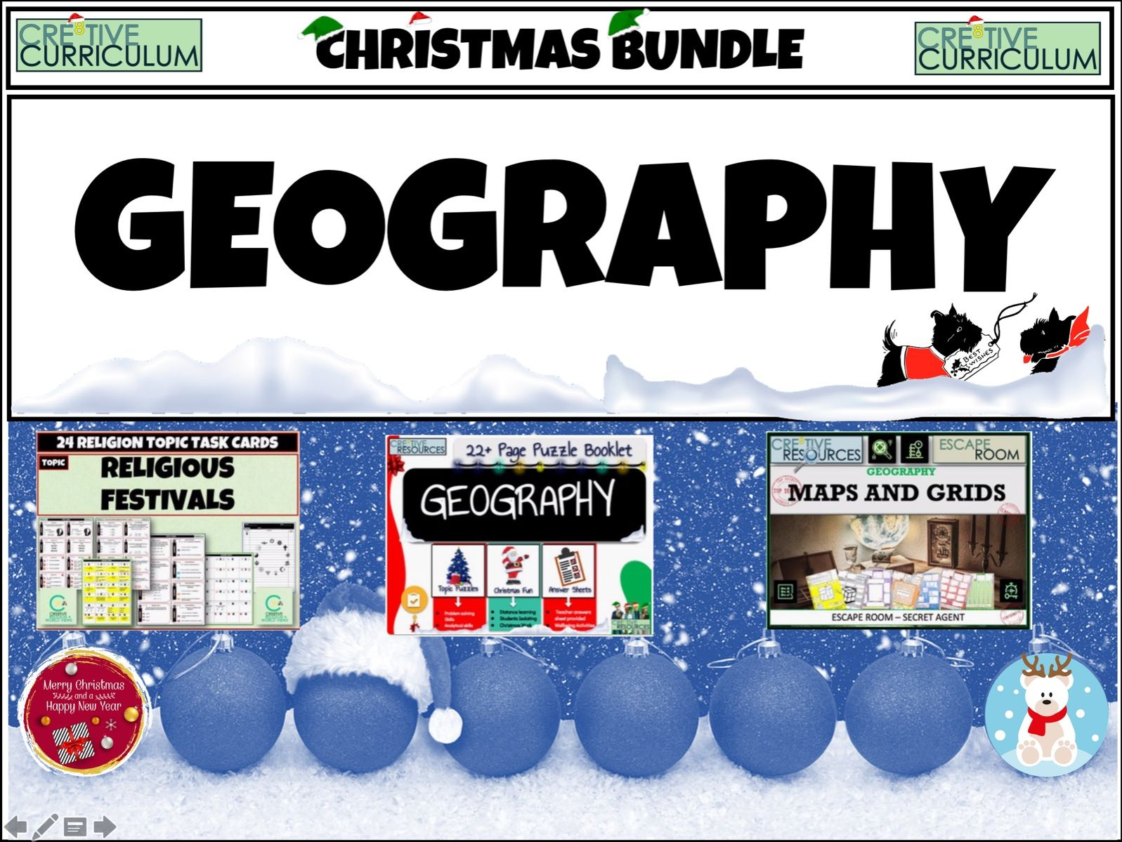 Geography Christmas Bundle