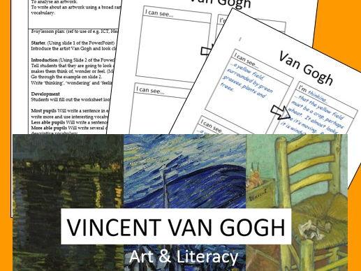 Developing Literacy Through Art - Van Gogh
