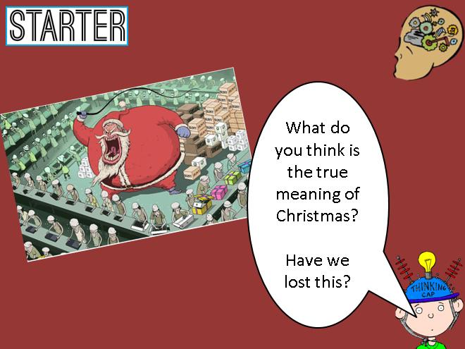 Christmas Edexcel Religious Education GCSE
