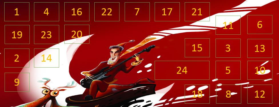 Christmas Interactive Powerpoint Advent Calendar