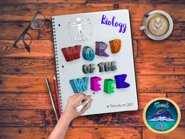 Biology - Summer Term - Word of the Week