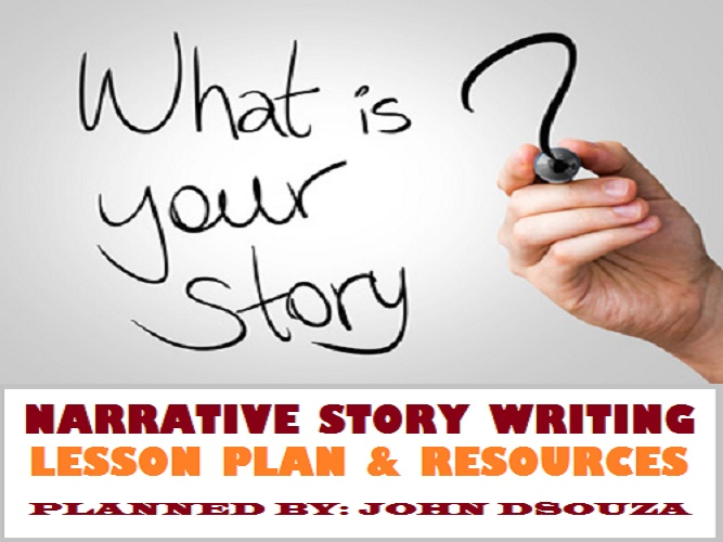 NARRATIVE STORY WRITING LESSON AND RESOURCES