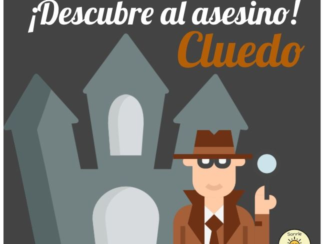 La casa, Cluedo. Parts and objects in a house- Cluedo game- Home and town. Home and local area.
