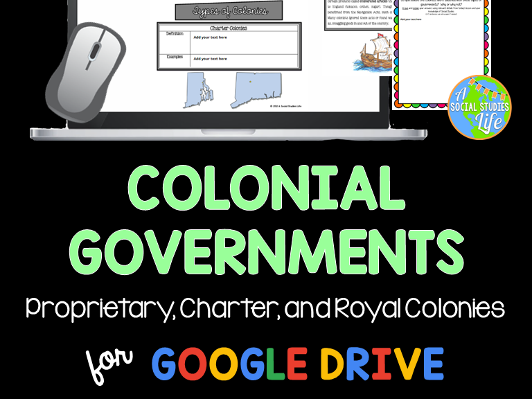 Thirteen Colonies - Colonial Governments