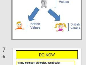A level/Btec Class about OOP and Inheritence in theory. Very simply explained. Kids loved it!