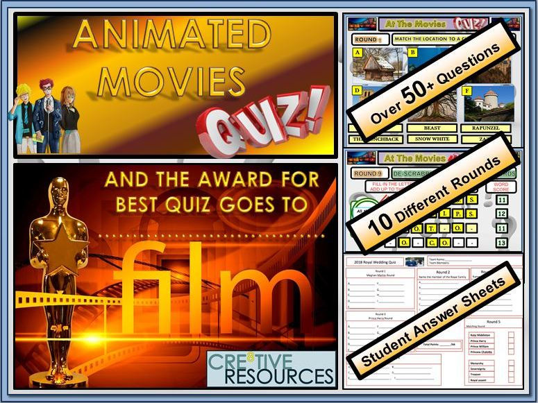Animated Movies Quiz