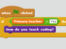 How do you teach coding?