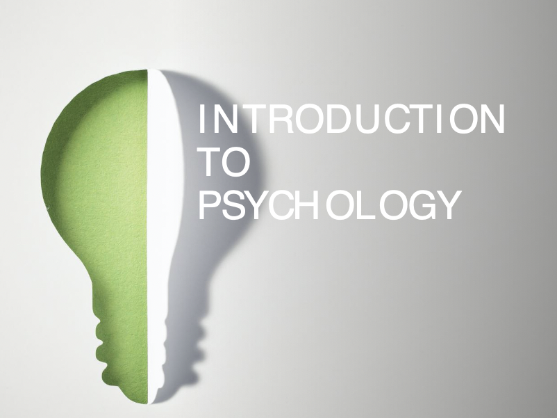 Introduction to Psychology (PowerPoint)