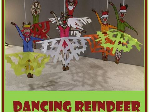 Christmas Crafts - Dancing Reindeer
