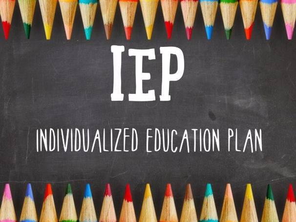 Blank IEP and Powerpoint