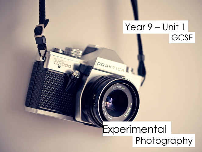 GCSE Experimental Photography - KS4