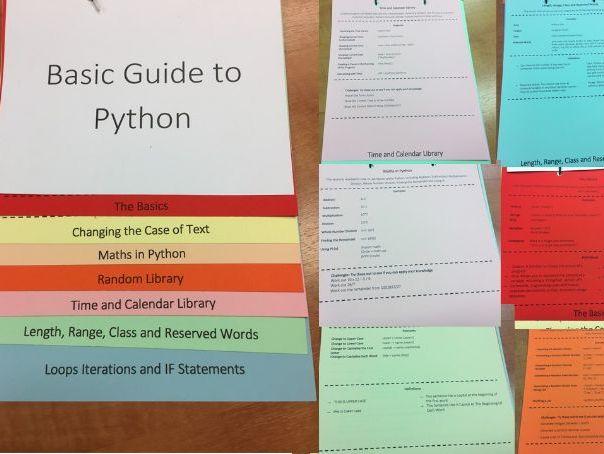 Flip Chart Python Help Guide