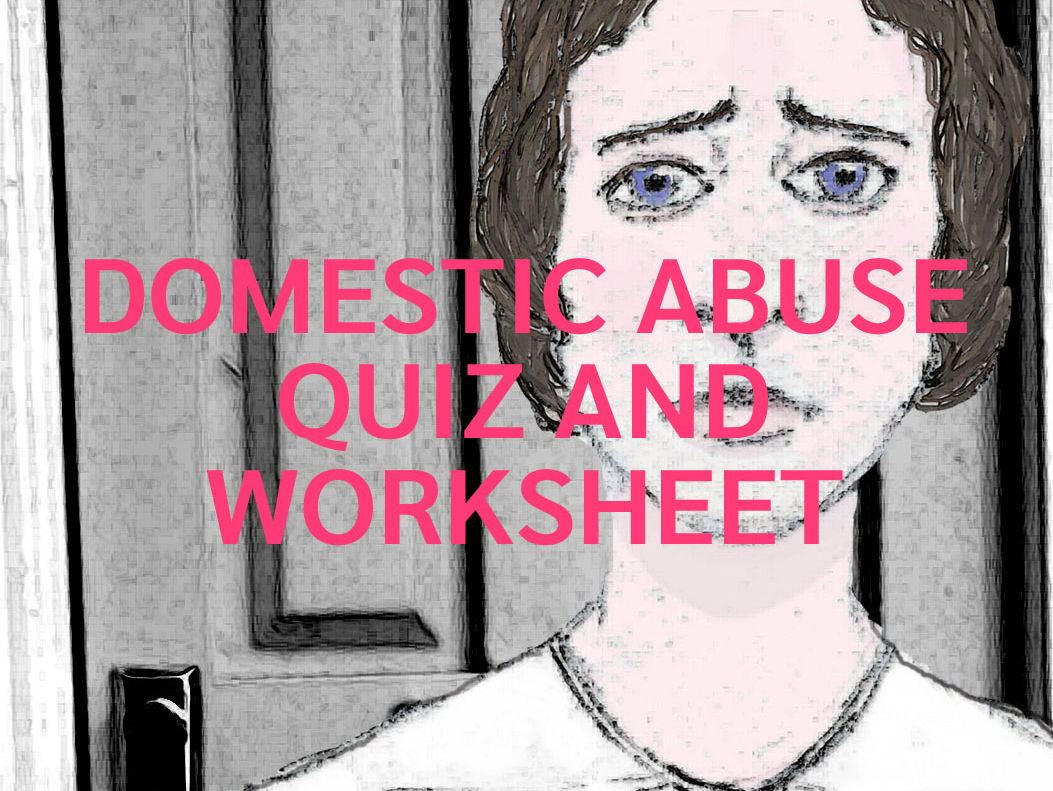 Domestic Abuse and Violence Quizzes and Worksheets, Sexual Harassment Hot Seating Lesson Bundle