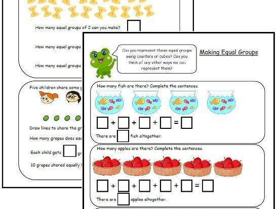 Making Equal Groups (1)