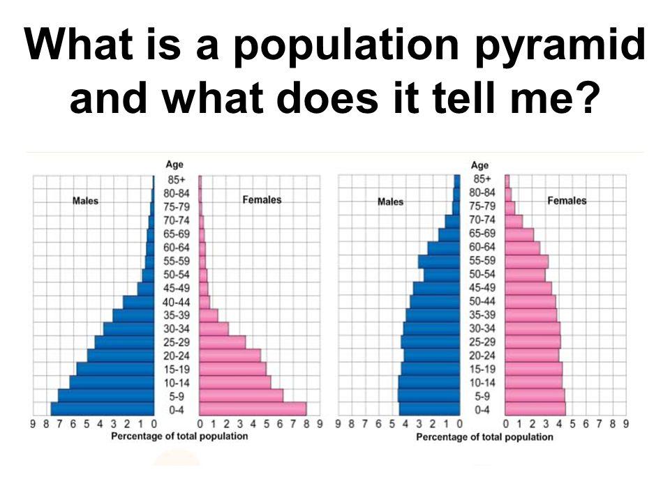 Population and population pyramids GCSE 9-1