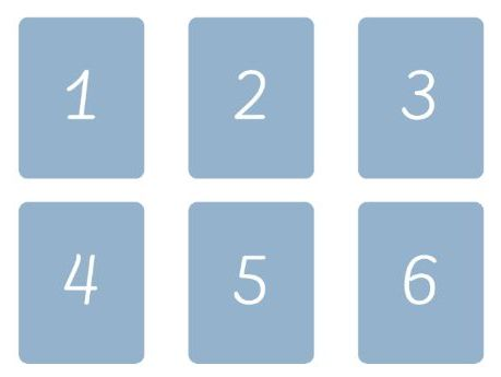Numbers 1-12 Flash Cards