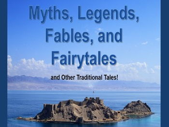 Myths, Legends, Fables, and Fairy Tales PowerPoint UK version