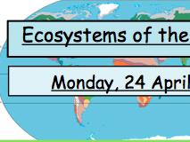 The location of Ecosystems ( KS3)